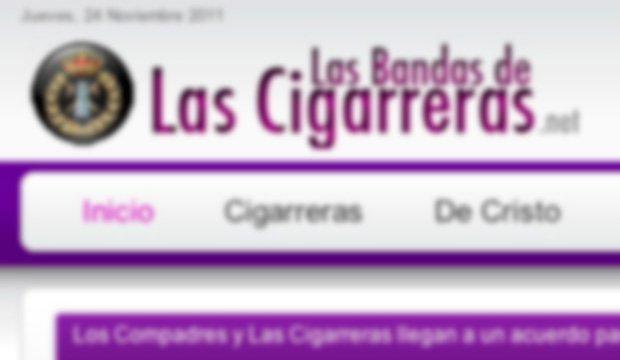 Estreno de nuestra nueva web de Las Cigarreras en 2011