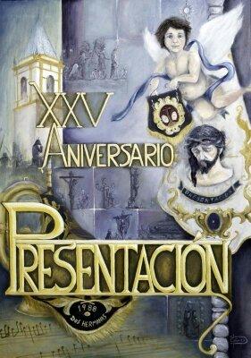 Cartel XXV Aniversario de Presentación al Pueblo.