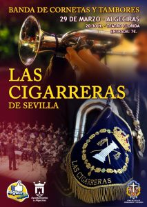 Cartel del Concierto en Algeciras
