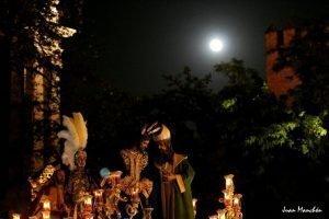 La noche de San Gonzalo - Foto: Juan Manchón en Twitter