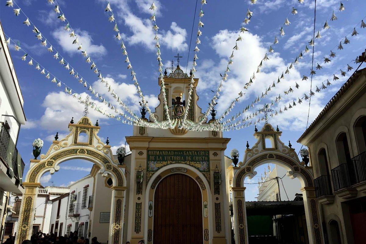 Nuestra música en el LXXV Aniversario de la Cruz de la Victoria en Paterna del Campo