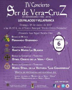 Cartel del IV Concierto Ser de Vera Cruz