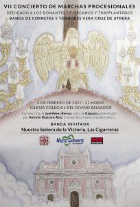 Cartel del Concierto de Las Cigarreras en el Salvador