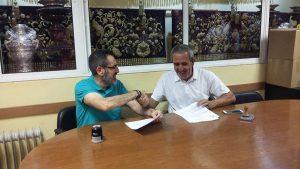 Firmado nuestro acompañamiento para la Hermandad de San Juan Bautista