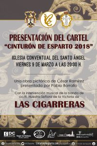 Las Cigarreras en la presentación del cartel Cinturón de Esparto 2018
