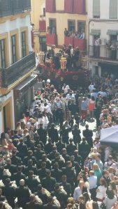 La Cena por Los Terceros Foto: Sevilla es Cofrade en Twitter