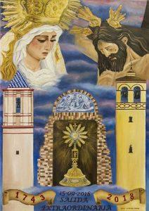 Cartel de la Procesión Extraordinaria de la Hermandad de San Juan Bautista