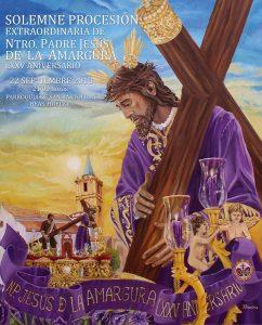 Cartel de la procesión extraordinaria del Señor de Clarines 2018