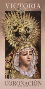 Cartel de la coronación de la Virgen de la Victoria
