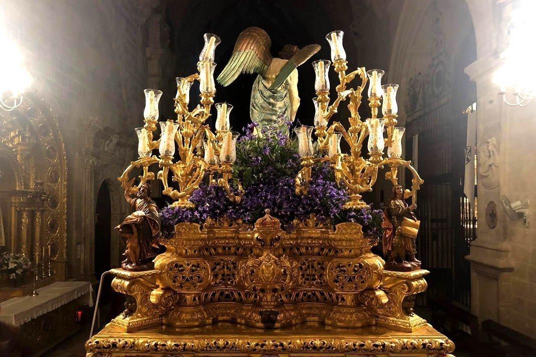 Procesión extraordinaria de la Oración en el Huerto de Jerez