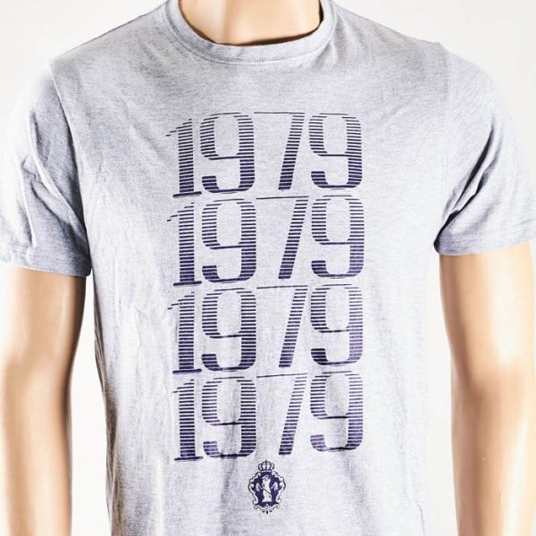 Camiseta 1979 gris   La tienda de Las Cigarreras
