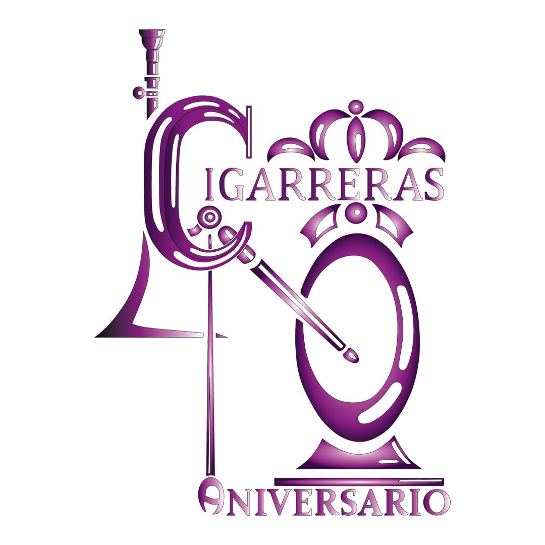 Logo del 40º Aniversario de Las Cigarreras