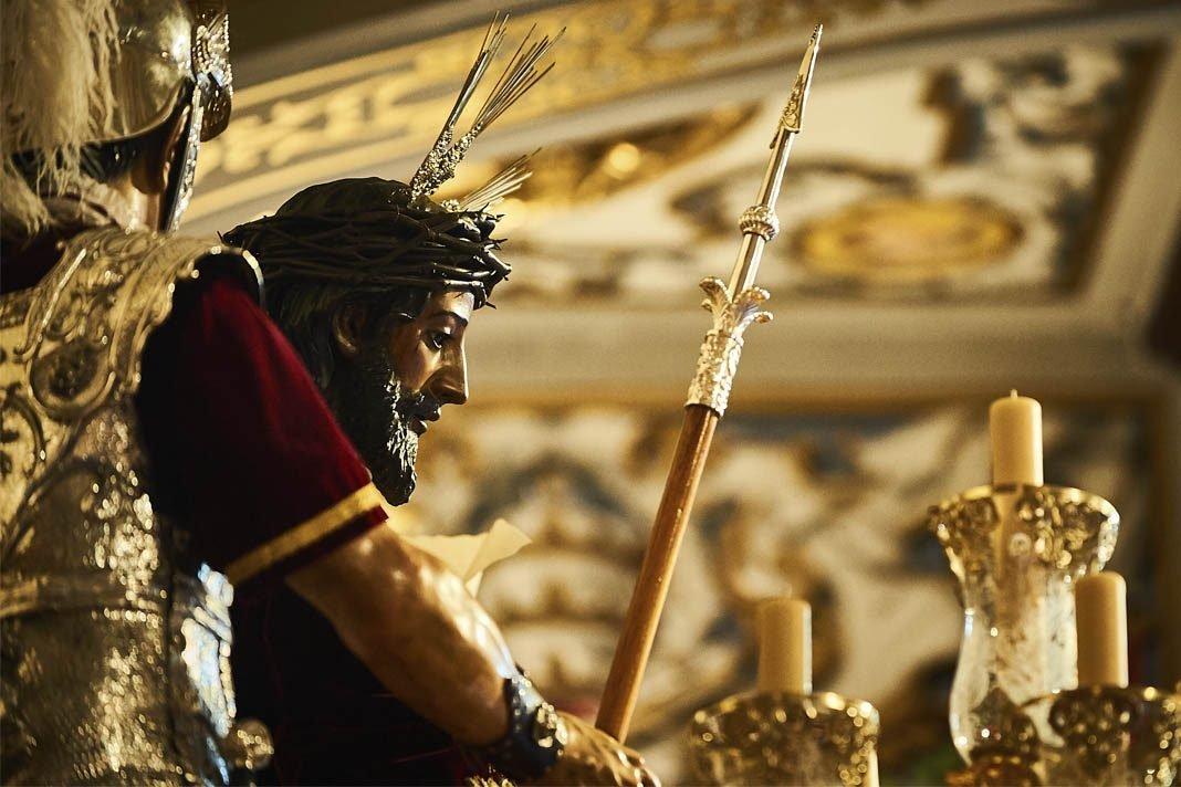 Ante Pilatos… El Hijo de Dios, nueva marcha de Las Cigarreras. Foto: Alejandro Mármol.