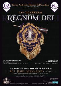 Cartel del espectáculo Regnum Dei en Alcalá de Guadaíra