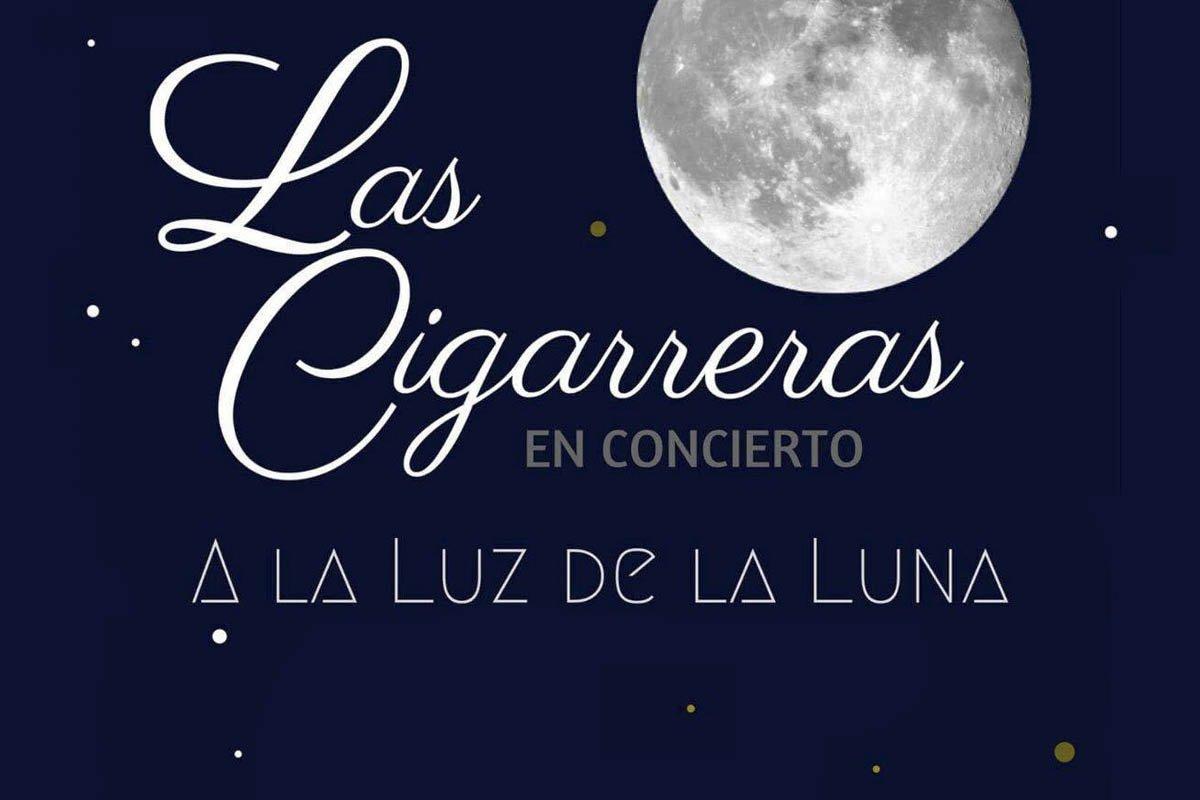 Las Cigarreras a la luz de la luna de Almadén de la Plata