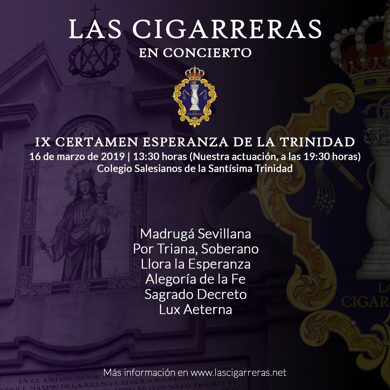 Repertorio del IX Certamen de la Trinidad