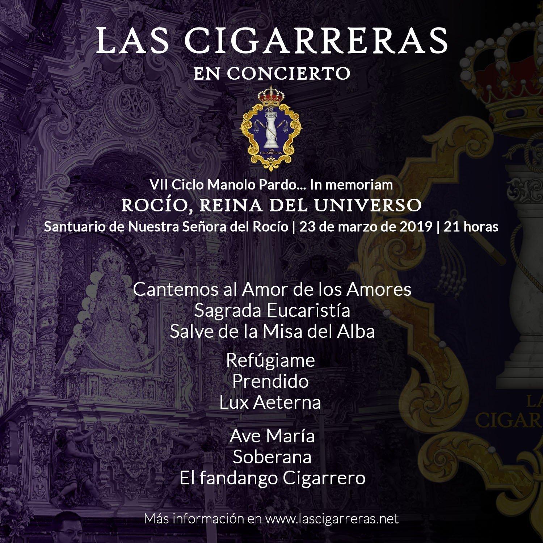 Repertorio de Las Cigarreras en la Ermita del Rocío