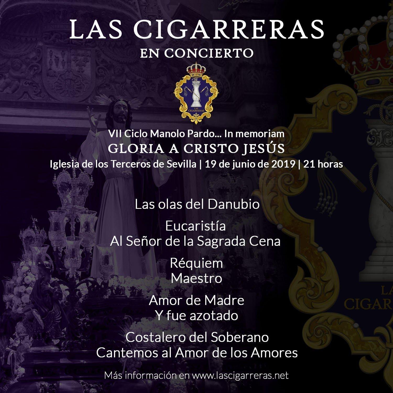 Repertorio de Las Cigarreras en la Iglesia de los Terceros 2019