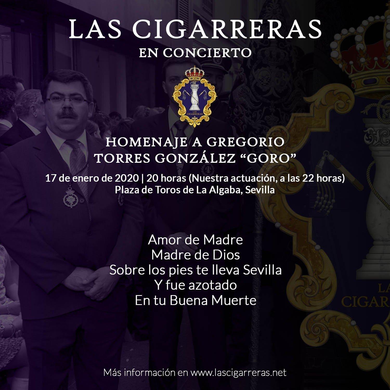 Repetorio de Las Cigarreras en el Certamen Homenaje a «Goro» en la Algaba