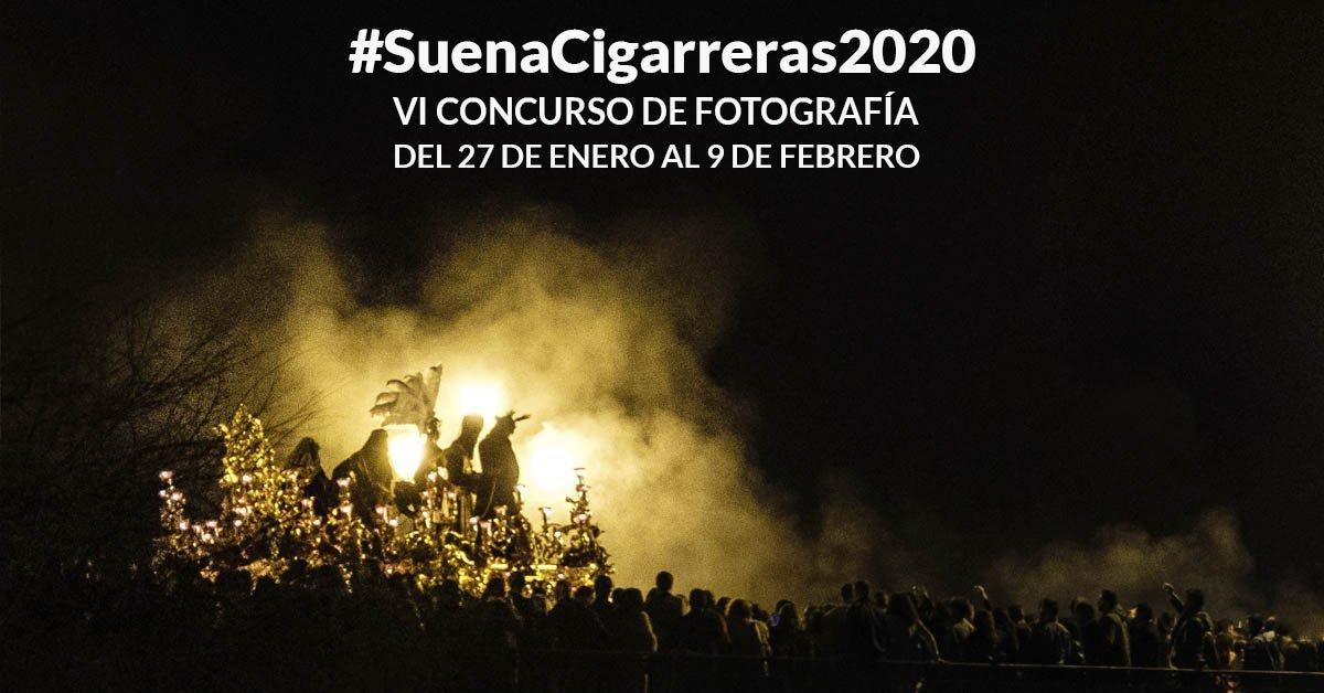 Convocamos el VI Concurso de Fotografía Suena Cigarreras