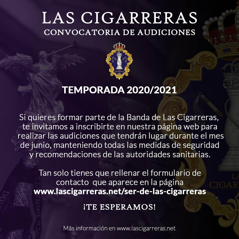 ¿Quieres ser de Las Cigarreras en la temporada 2020/2021?
