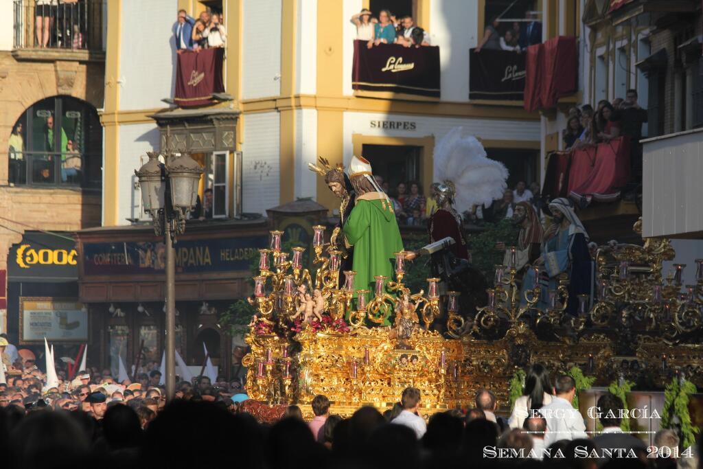 San Gonzalo en Campana el Lunes Santo de 2014
