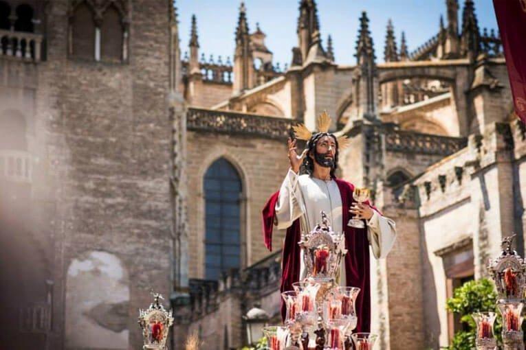 Corpus de Sevilla 2015 con La Cena