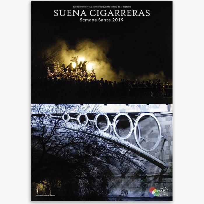 Cartel Suena Cigarreras 2019 | La tienda de Las Cigarreras