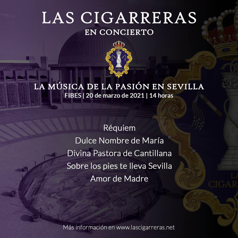 Las Cigarreras en el certamen La Música de la Pasión en Sevilla