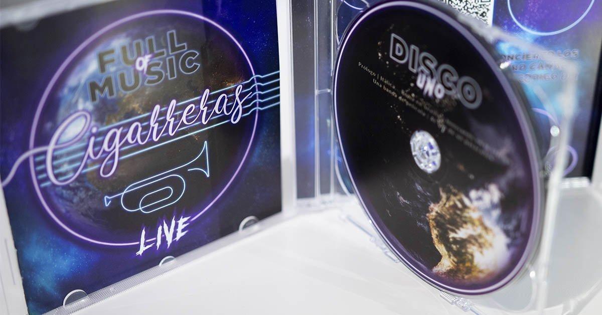 Dónde comprar el disco Llena eres de Música